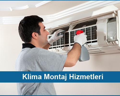 Klima montaj hizmetleri