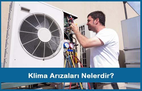 Klima Arızaları Nelerdir?