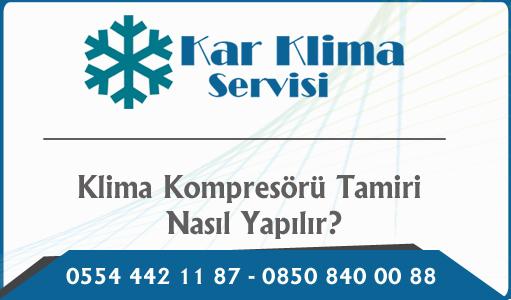 Klima Kompresörü Tamiri Nasıl Yapılır?